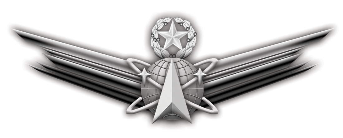 Officials unveil new space badge