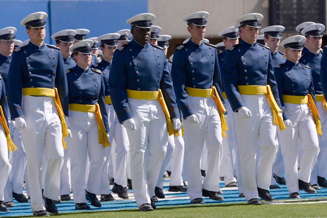 U.S. Air Force Academy Class of 2014 Graduation Ceremony